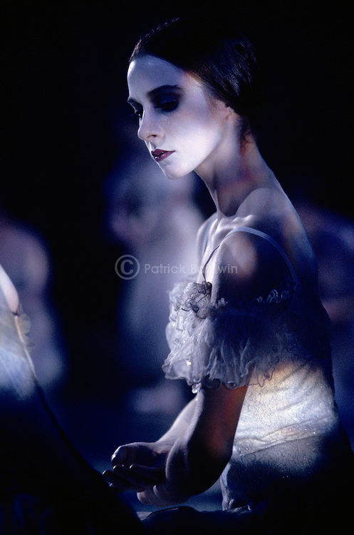 Lenaig Guegan in English National Ballet's production of Giselle choreographed by Derek Deane