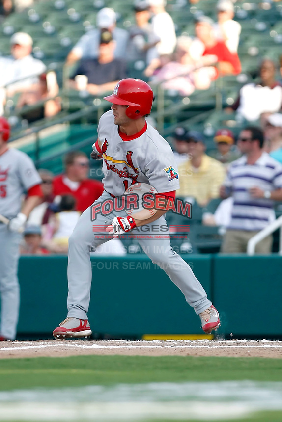 Tyler Henley - Springfield Cardinals.2009 Texas League All-Star game held at Dr. Pepper Ballpark, Frisco, TX - 07/01/2009. The game was won by the North Division, 2-1..Photo by:  Bill Mitchell/Four Seam Images
