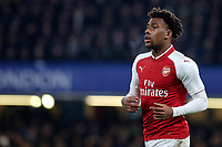 Alex Iwobi of Arsenal during Chelsea vs Arsenal, Caraboa Cup Football at Stamford Bridge on 10th January 2018