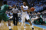 16 December 2015: North Carolina's Nate Britt (0) and Tulane's Von Julien (10). The University of North Carolina Tar Heels hosted the Tulane University Green Wave at the Dean E. Smith Center in Chapel Hill, North Carolina in a 2015-16 NCAA Division I Men's Basketball game. UNC won the game 96-72.