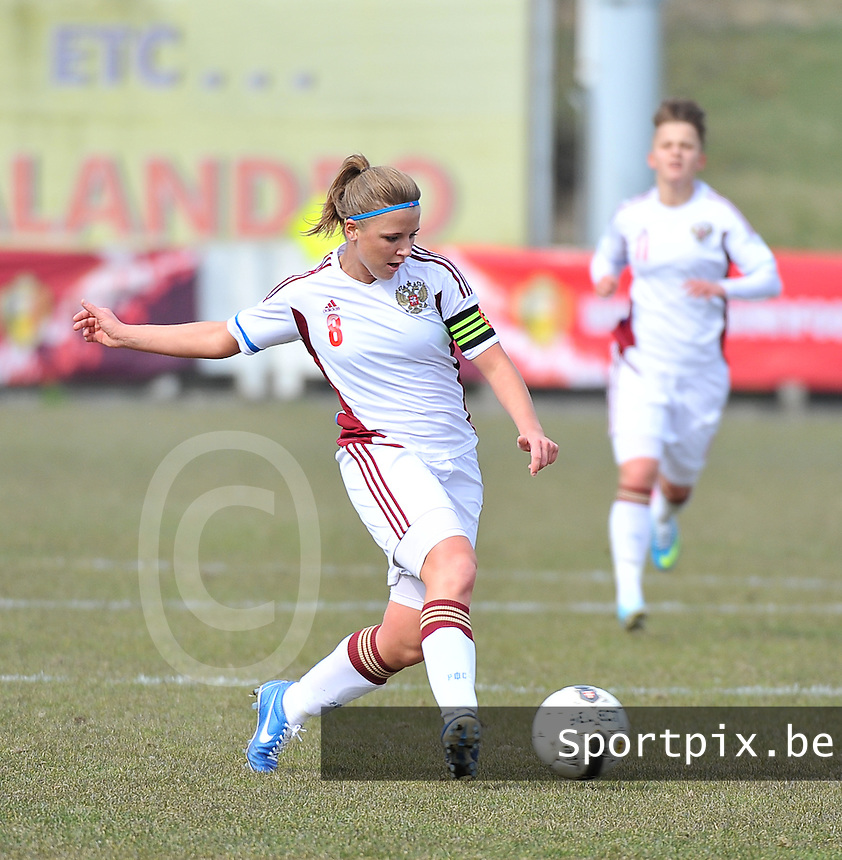 Switzerland U19 - Russia U19 : Anastasia Efimova (C).foto DAVID CATRY / Nikonpro.be