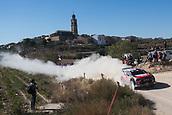 6th October 2017, Costa Daurada, Salou, Spain; FIA World Rally Championship, RallyRACC Catalunya, Spanish Rally; Kris Meeke - Paul Nagle of Citroen Total Abu Dhabi WRT  during the SS3 in Villalba dels Arcs