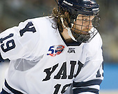 Denny Kearney (Yale - 19) - The Yale University Bulldogs defeated the Air Force Academy Falcons 2-1 (OT) in their East Regional Semi-Final matchup on Friday, March 25, 2011, at Webster Bank Arena at Harbor Yard in Bridgeport, Connecticut.