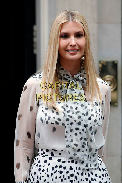 LONDON, ENGLAND - JUNE 04: Ivanka Trump outside in 10 Downing Street, during the second day of Trump State Visit on June 4, 2019 in London, England. <br /> CAP/GOL<br /> ©GOL/Capital Pictures