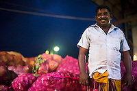 Dambulla wholesale fruit and vegetable market, portrait of a truck owner, Dambulla, Central Province, Sri Lanka, Asia. This is a photo of a truck owner at Dambulla wholesale fruit and vegetable market, Dambulla, Central Province, Sri Lanka, Asia