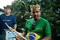 BRASÍLIA, DF, 06.02.2016 – CARNAVAL-DF - O bloco Galinho de Brasília reúne diversos foliões na tarde deste sábado, 06. (Foto: Ricardo Botelho/Brazil Photo Press)
