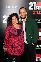 LOS ANGELES, CA - MAR 13: Marissa Jaret Winokur, Judah Miller at the premiere of Columbia Pictures '21 Jump Street' held at Grauman's Chinese Theater on March 13, 2012 in Los Angeles, California