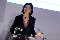 Roma, 26 Aprile 2017<br /> La Presidente della Camera dei Deputati Laura Boldrini.<br /> Camera dei Deputati<br /> Presentazione del rapporto &quot;Universit&agrave;, Ricerca, Crescita&quot; dell'associazione Italiadecide (editore Il Mulino)