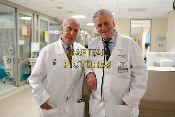 Making Rounds (2015) <br /> Dr. Herschel Sklaroff &amp; Dr. Valentin Fuster in the Cardiac Care Unit at Mount Sinai Hospital in New York City.<br /> *Filmstill - Editorial Use Only*<br /> CAP/KFS<br /> Image supplied by Capital Pictures
