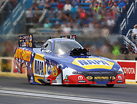 Jul 9, 2017; Joliet, IL, USA; NHRA funny car driver Ron Capps during the Route 66 Nationals at Route 66 Raceway. Mandatory Credit: Mark J. Rebilas-USA TODAY Sports