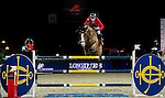 Hans-Dieter Dreher of Germany riding Callisto in action during the Longines Speed Challenge competition as part of the Longines Hong Kong Masters on 13 February 2015, at the Asia World Expo, outskirts Hong Kong, China. Photo by Li Man Yuen / Power Sport Images