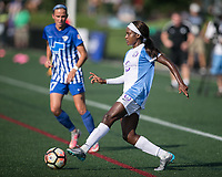 Allston, MA - Saturday August 19, 2017: Chioma Ubogagu during a regular season National Women's Soccer League (NWSL) match between the Boston Breakers and the Orlando Pride at Jordan Field.