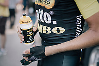 Robert Gesink's (NED/LottoNL-Jumbo) post-race recovery drink<br /> <br /> 104th Tour de France 2017<br /> Stage 4 - Mondorf-les-Bains &rsaquo; Vittel (203km)