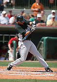 Aaron Boone of the Florida Marlins vs. the Houston Astros March 15th, 2007 at Osceola County Stadium in Kissimmee, FL during Spring Training action.  Photo copyright Mike Janes Photography 2007.