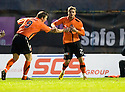 06/11/2010   Copyright  Pic : James Stewart.sct_jsp009_hamilton_v_dundee_utd  .:: DAVID GOODWILLIE CELEBRATES AFTER HE SCORES UNITED'S GOAL AFTER COMING OFF THE BENCH  ::.James Stewart Photography 19 Carronlea Drive, Falkirk. FK2 8DN      Vat Reg No. 607 6932 25.Telephone      : +44 (0)1324 570291 .Mobile              : +44 (0)7721 416997.E-mail  :  jim@jspa.co.uk.If you require further information then contact Jim Stewart on any of the numbers above.........