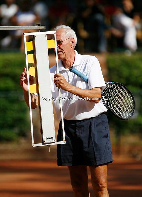 24-8-07, Velp, Tennis, Nationale  Veteranen Tennis Kampioenschappen 2007,