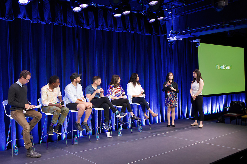 New York, NY - May 31, 2016: Edible Manhattan and Vayner Media join Google to host #MakeFutureFood, a preliminary event to the upcoming Food Loves Tech event.<br /> <br /> CREDIT: Clay Williams for Edible Manhattan.<br /> <br /> &copy; Clay Williams / claywilliamsphoto.com