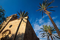 Kirche von Montuiri, Mallorca, Spanien