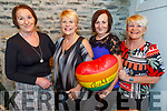 Pat Enright, Pat Clapham, Brenda Kerins and Ann Buggy celebrating in Bella Bia on Saturday night as Brenda Kerins daughter gave birth to twins Dara and Aoibh Shanahan in the Caymen Islands last week