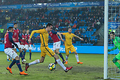 23rd March 2018, Ullevaal Stadion, Oslo, Norway; International Football Friendly, Norway versus Australia; Tom Rogic of Australia gets a good scoring chance on the box but misses the chance