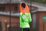 13.09.2017, Trainingsgelaende, Bremen, GER, 1.FBL, Training SV Werder Bremen<br /> <br /> im Bild<br /> Milos Veljkovic (Werder Bremen #13) mit Trainingsleibchen, <br /> <br /> Foto &copy; nordphoto / Ewert