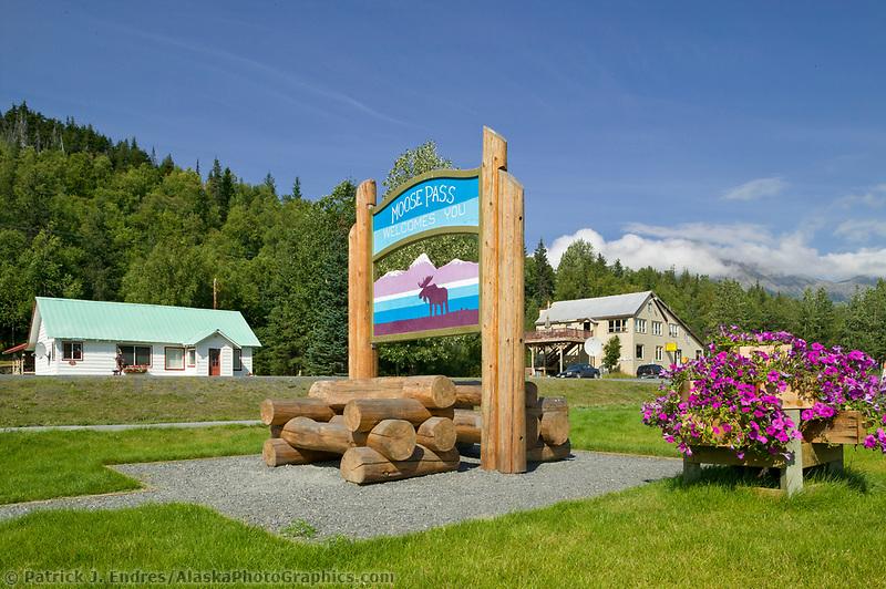 Moose Pass, along the New Seward Highway, Kenai Peninsula, Alaska