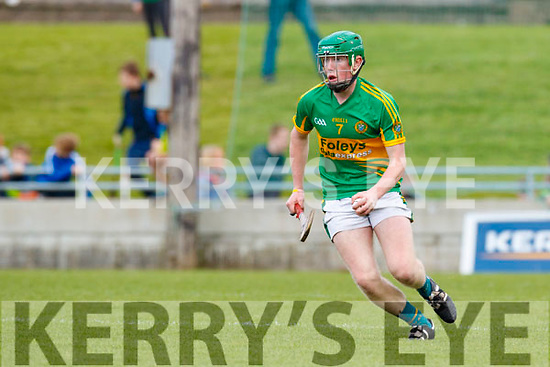 Ballyduff in action against Conor O'Keeffe Lixnaw in the Senior County Hurling Final in Austin Stack Park on Sunday