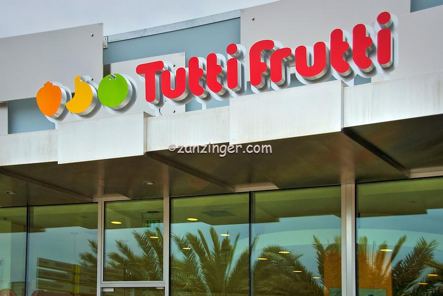 Tutti Frutti, Food Court, Santa Monica Place, Santa Monica, CA; Dining, Fast Food,