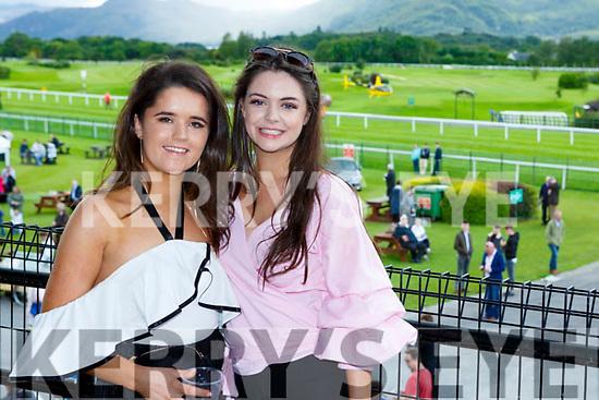 Lauren Kelliher and Nicole Browne Listowel enjoying the Killarney Races on Wednesday
