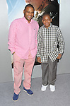 Anthony Anderson and son Nathen at The World Premiere of Elysium held at the Regency Village Theatre in Los Angeles, Ca. August 7, 2013.
