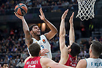 Real Madrid Trey Thompkins during Turkish Airlines Euroleague match between Real Madrid and Olympiacos Piraeus at Wizink Center in Madrid , Spain. February 09, 2018. (ALTERPHOTOS/Borja B.Hojas)