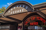 Out of Town News in Harvard Square, Cambridge, MA
