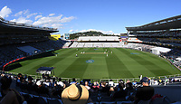 General view.<br /> New Zealand Blackcaps v England. 1st day/night test match. Eden Park, Auckland, New Zealand. Day 4, Sunday 25 March 2018. &copy; Copyright Photo: Andrew Cornaga / www.Photosport.nz