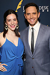Jessica Hershberg Fontana and Santino Fontana during the 2019 Drama Desk Awards at Steinway Hall on June 2, 2019  in New York City.