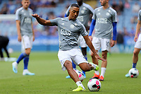Youri Tielemans of Leicester City before Leicester City vs Wolverhampton Wanderers, Premier League Football at the King Power Stadium on 11th August 2019