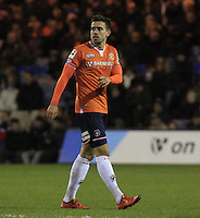 Olly Lee of Luton Town during the Sky Bet League 2 match between Luton Town and Yeovil Town at Kenilworth Road, Luton, England on 2 February 2016. Photo by Liam Smith.