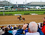 LOUISVILLE, KENTUCKY - May 02: Fans pack the bleachers to catch a glimpse of future horse racing stars as Patch passes during Kentucky Derby and Oaks preparations at Churchill Downs on April 30, 2017 in Louisville, Kentucky. (Photo by Sydney Serio/Eclipse Sportswire/Getty Images)