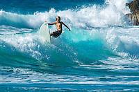 Surfer<br /> Reef Bay, St. John <br /> Virgin Islands National Park
