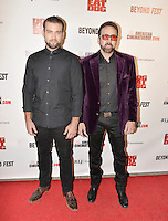 LOS ANGELES, CA - SEPTEMBER 30: Weston Cage and Nicolas Cage at the retrospective of Paul Schrader's body of work and The Beyond Fest Screening and Retrospective of Dog Eat Dog hosted by American Cinematheque at the Egyptian Theatre in Los Angeles, California on September 30, 2016. Credit: Koi Sojer/Snap'N U Photos/MediaPunch