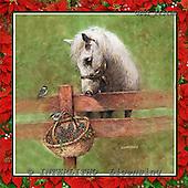 GIORDANO, CHRISTMAS ANIMALS, WEIHNACHTEN TIERE, NAVIDAD ANIMALES, paintings+++++,USGI2434WB,#XA# horse,horses