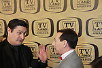 "Days of our Lives Rob Shuter interviews RaPaul Reubens - Pee Wee Herman honored with Pop Culture Award at the 10th Anniversary of the TV Land Awards on April 14, 2012 to honor shows ""Murphy Brown"", ""Laverne & Shirley"", ""Pee-Wee's Playhouse"", ""In Loving Color"" and ""One Day At A Time"" and Aretha Franklin at the Lexington Armory, New York City, New York. (Photo by Sue Coflin/Max Photos)"