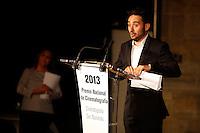 Director Juan Antonio Bayona receives the National Cinema Award during the 61 San Sebastian Film Festival, in San Sebastian, Spain. September 21, 2013. (ALTERPHOTOS/Victor Blanco) /NortePhoto