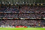 Ajax fans thunderclap during the UEFA Europa League Final match at the Friends Arena, Stockholm. Picture date: May 24th, 2017.Picture credit should read: Matt McNulty/Sportimage