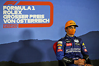 5th July 2020; Red Bull Ring, Spielberg Austria; F1 Grand Prix of Austria, Race Day;  4 Lando Norris GBR, McLaren F1 Team