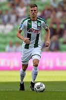 GRONINGEN - Voetbal, FC Groningen - FC Utrecht,  Eredivisie , Noordlease stadion, seizoen 2017-2018, 27-08-2017,   FC Groningen speler Yoell van Nieff