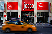 NEW YORK, NY - FEBRUARY 25:  The JC Penney's headquarter on February 25, 2019 in Manhattan, New York. J.C. Penney (JCP) is expected to deliver a decline in earnings on lower revenues for the quarter ended.  (Photo by Eduardo Munoz Alvarez/VIEWpress)