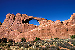 UT: Utah; Arches National Park     .Photo Copyright: Lee Foster, lee@fostertravel.com, www.fostertravel.com, (510) 549-2202.Image: utarch205