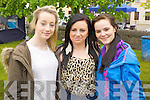 Pictured at Ardfert family fun day on Sunday were l-r: Norma Horan, Laura Lenihan and Diana Fealey.