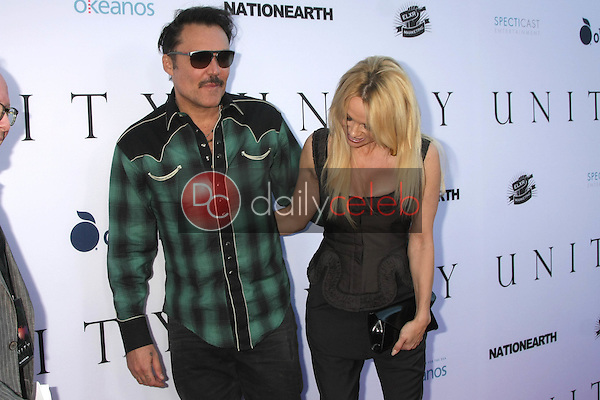 "David LaChapelle, Pamela Anderson<br /> <br /> at the ""Unity"" Documentary World Premeire, Director's Guild of America, Los Angeles, CA 06-24-15"