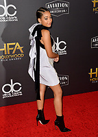 LOS ANGELES, CA. November 04, 2018: Amandla Stenberg at the 22nd Annual Hollywood Film Awards at the Beverly Hilton Hotel.<br /> Picture: Paul Smith/FeatureflashLOS ANGELES, CA. November 04, 2018: Wendy Starland at the 22nd Annual Hollywood Film Awards at the Beverly Hilton Hotel.<br /> Picture: Paul Smith/FeatureflashLOS ANGELES, CA. November 04, 2018: Amandla Stenberg at the 22nd Annual Hollywood Film Awards at the Beverly Hilton Hotel.<br /> Picture: Paul Smith/Featureflash